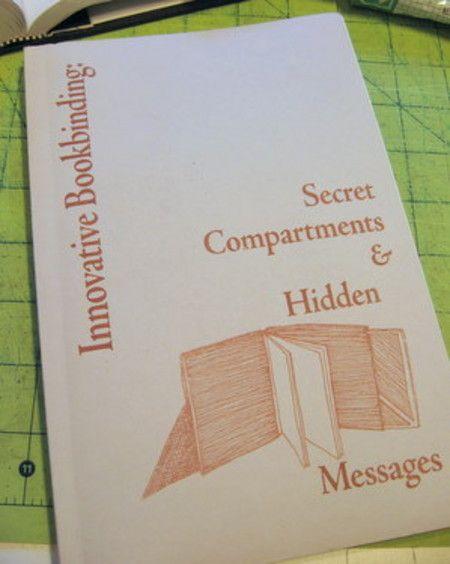 007 Innovative Bookbinding Secret Compartments & Hidden