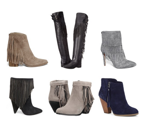 Our Top 6 Perfect Fringe Bootie Picks