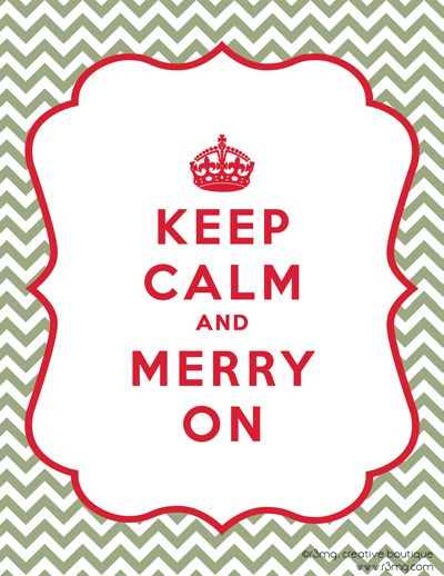 Keep Calm and Merry On – FREE Printable | r3mg:: creative boutique | www.r3mg.com