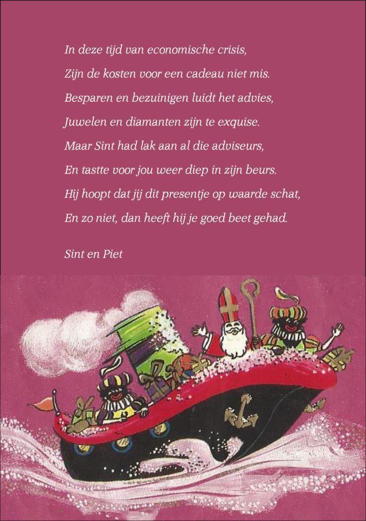Algemeen Sinterklaasgedicht Presentation