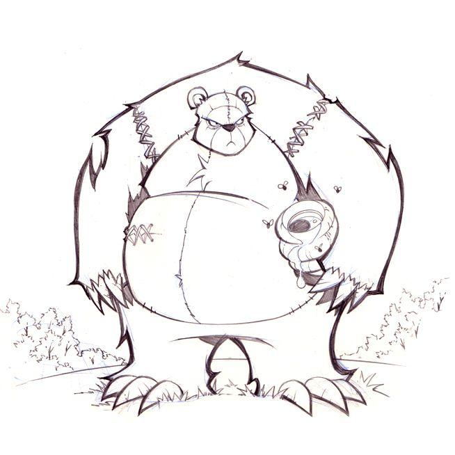 Mr. Bear by frogbillgo on DeviantArt