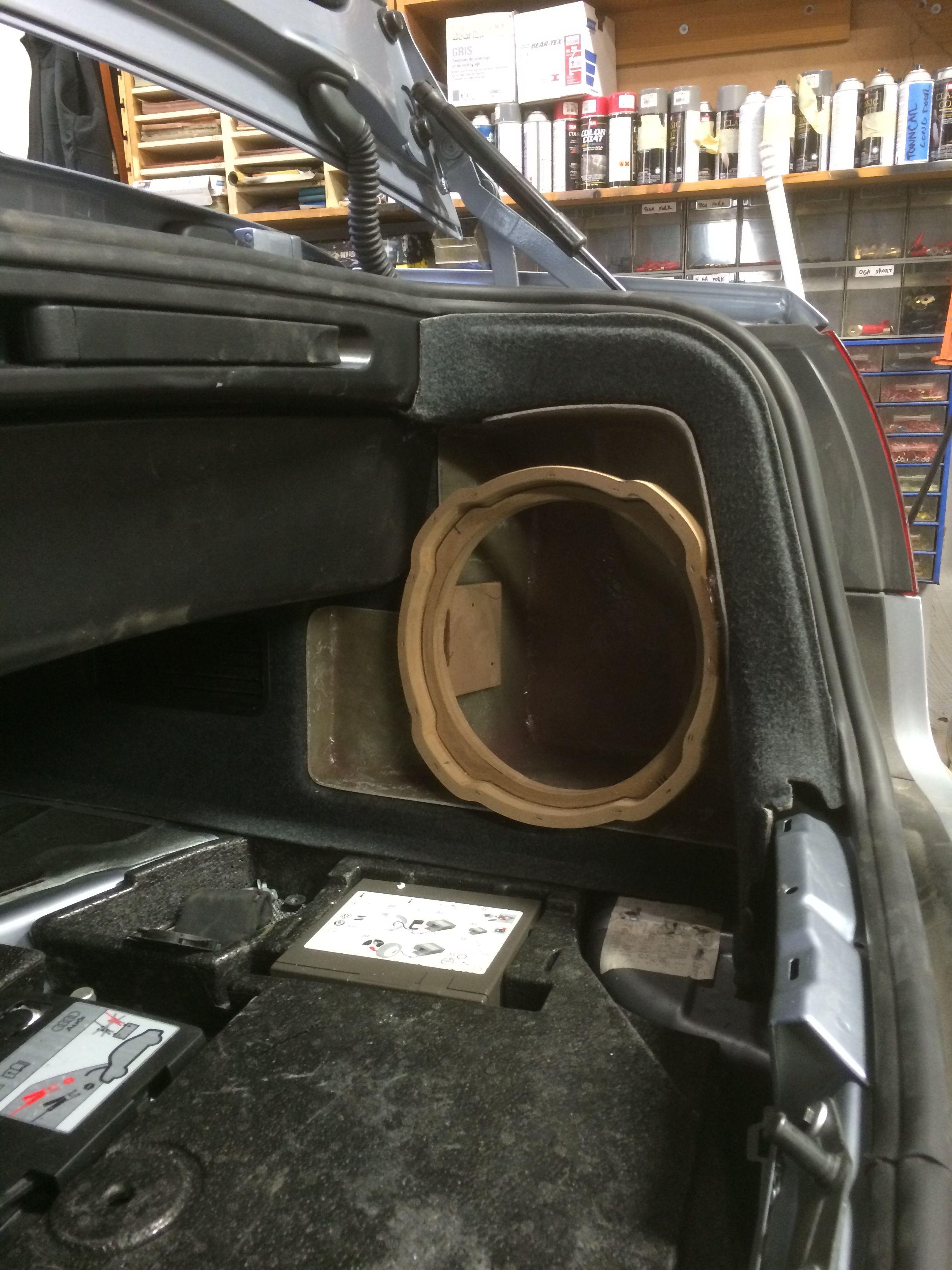 Custom Fabrication Stealth Subwoofer Enclosure Car Audio Car Audio Systems Car Audio Installation