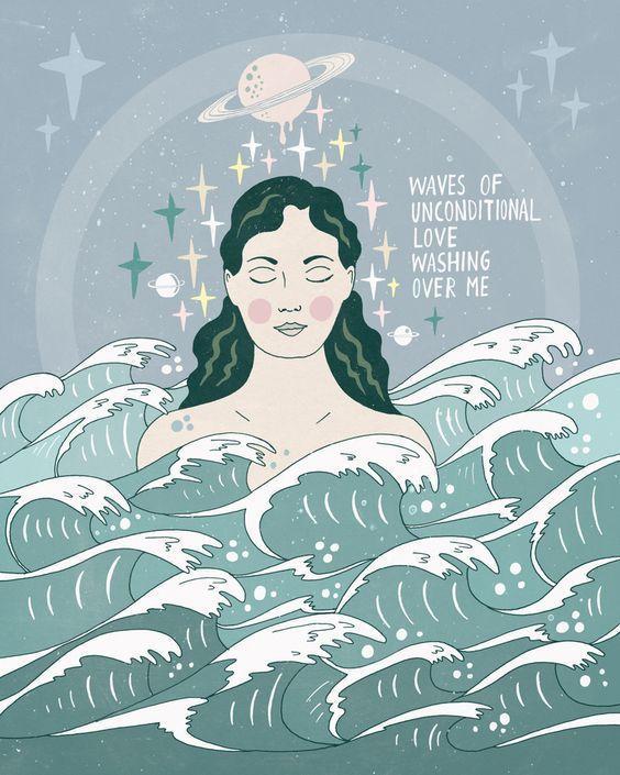 HOW TO MANIFEST WHILE YOU SLEEP: LOA – | Whimsical illustration, Art, Illustration