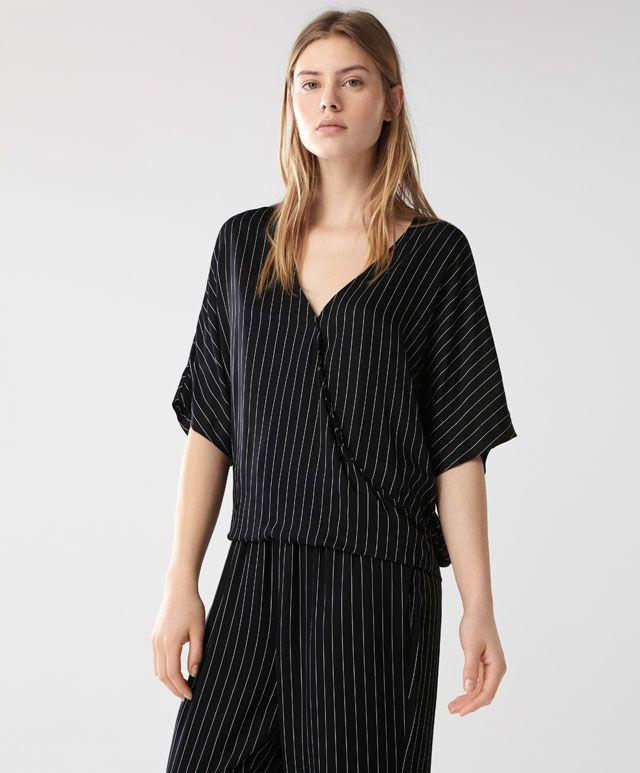 c7d434554308 Striped black shirt - Pyjamas - NIGHTWEAR