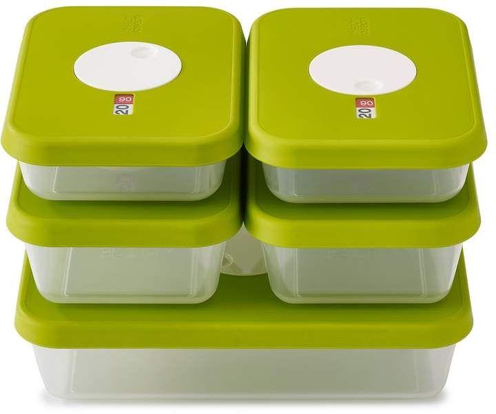Joseph joseph dial storage 5piece rectangular container