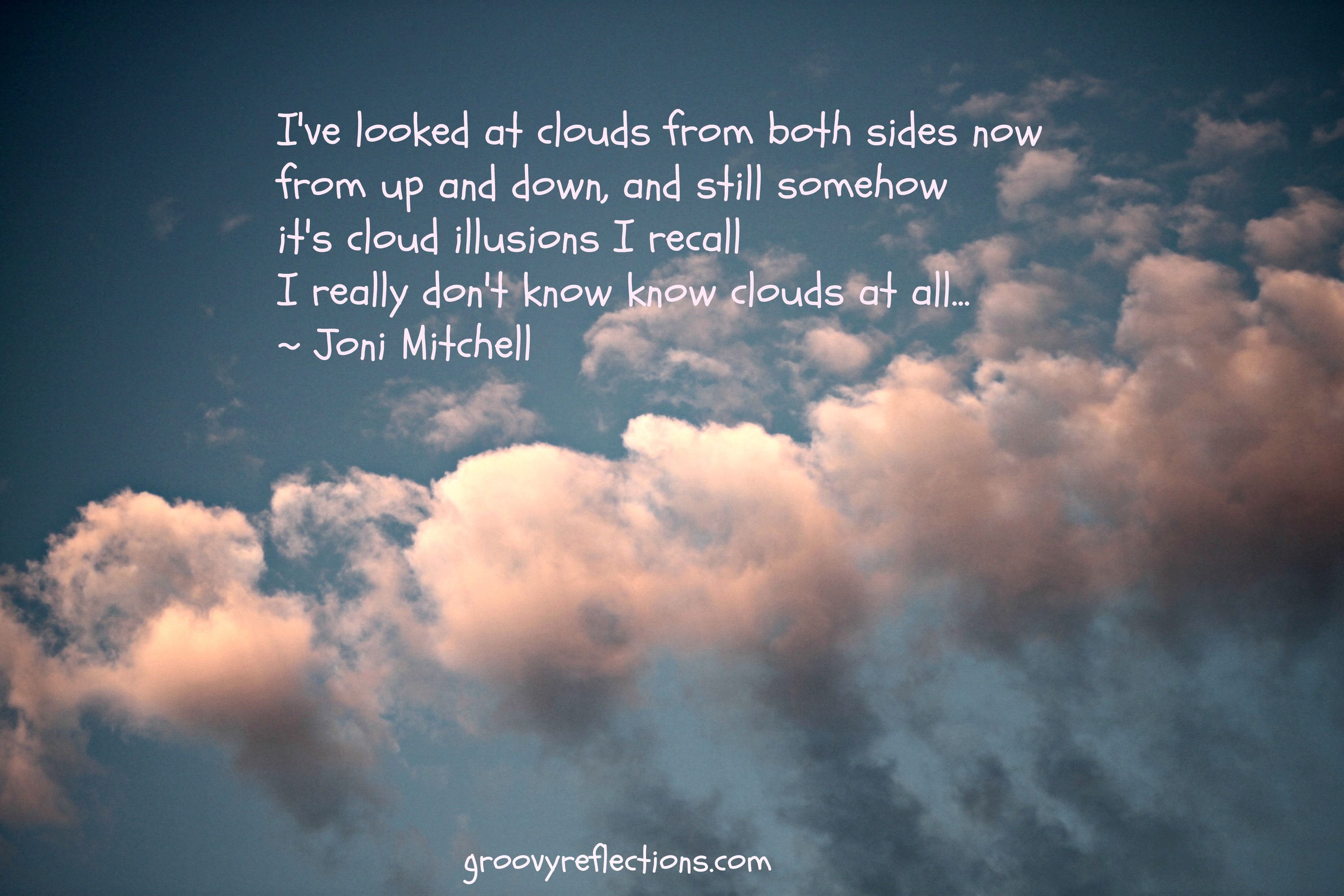 MITCHELL JONI - CLOUDS ALBUM LYRICS