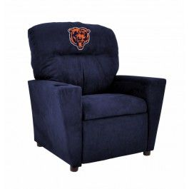 Chicago Bears NFL Kids/Childrens Recliner Chair Furniture