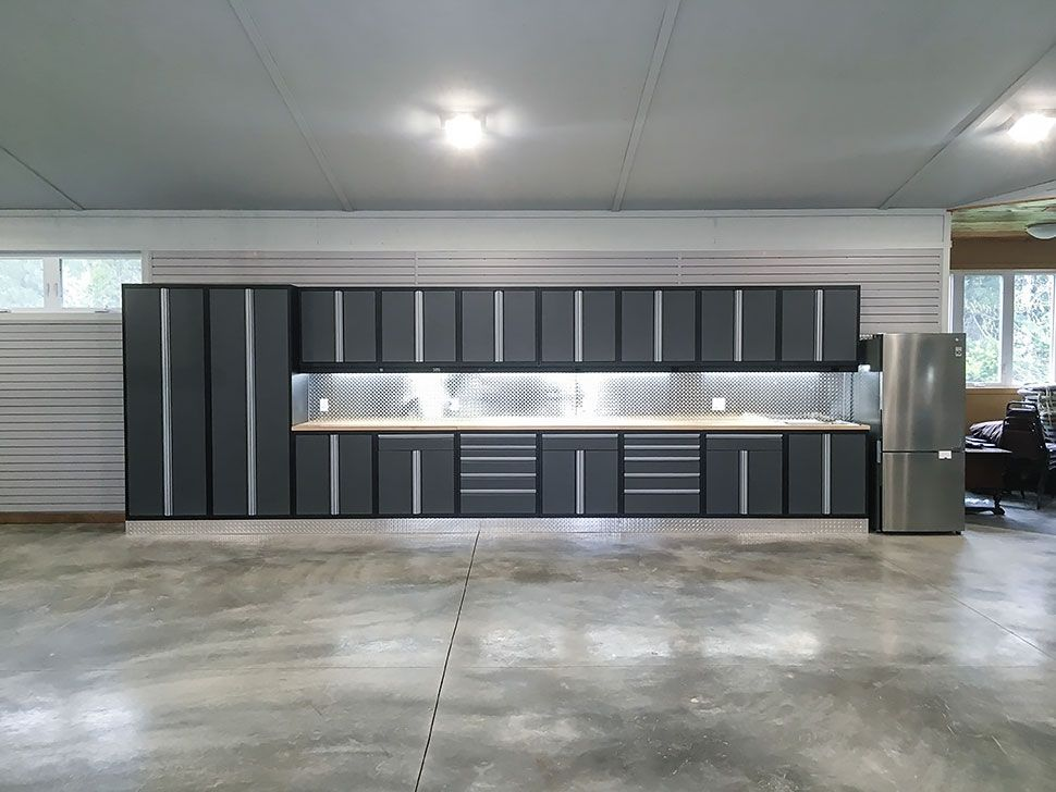 Garage Makeover Ideas Garage Living Within Interior Garage Design
