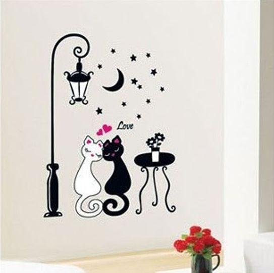 Gatos para decorar buscar con google paredes decoradas - Paredes decoradas modernas ...