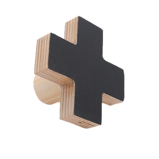 Cross Wall Hook - Black – baby company