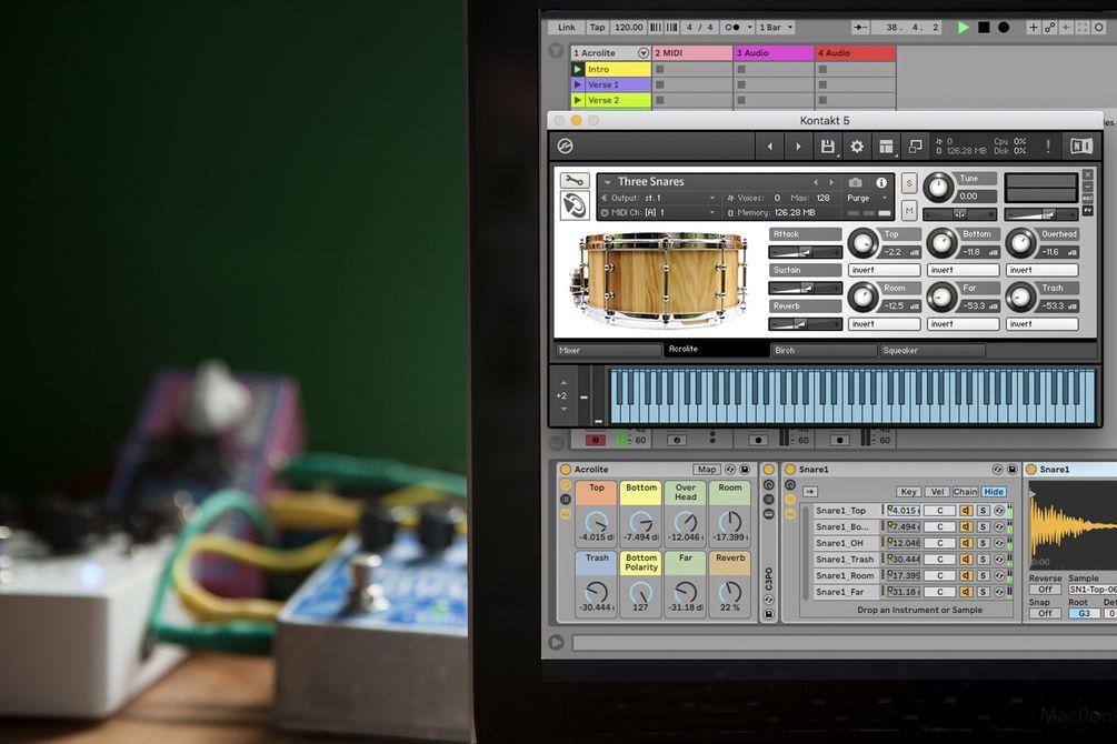 Free Snare Designer for Ableton Live, Logic, and Kontakt