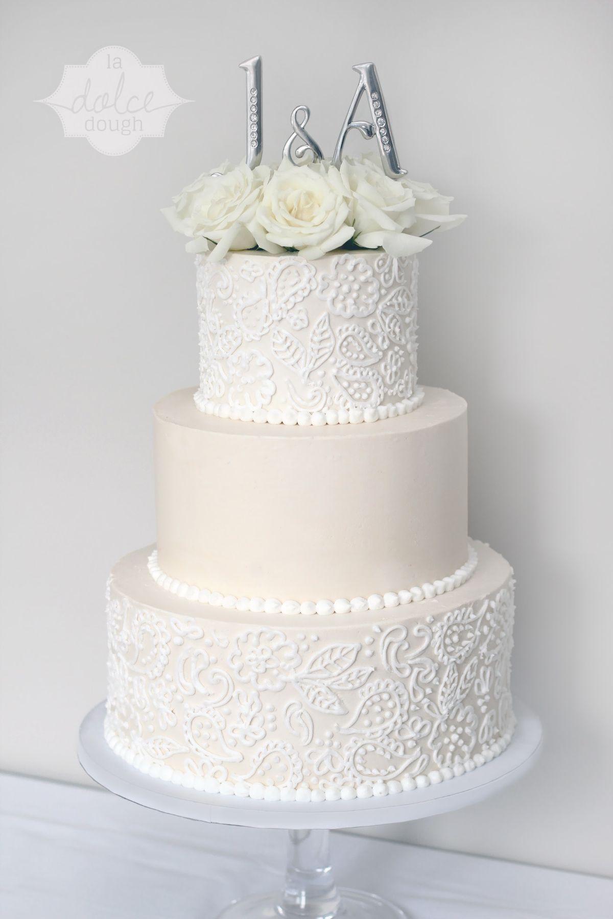 14 amazing buttercream wedding cakes photos | Pinterest ...