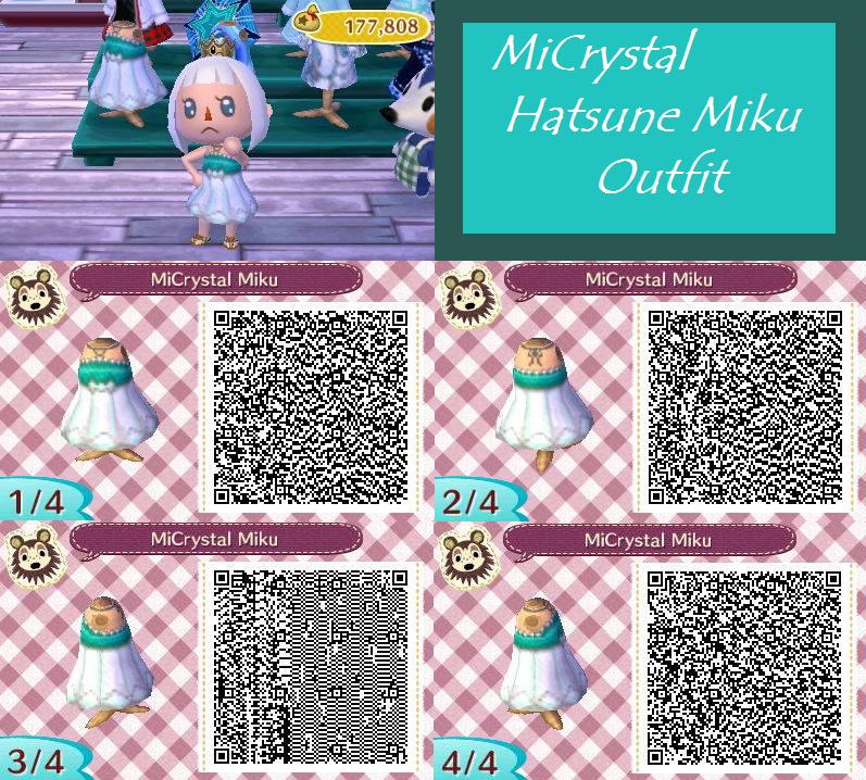 Ac New Leaf Qr Micrystal Hatsune Miku By Neodragongoddess