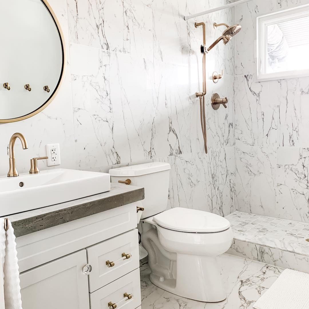 We Are Mesmerized By This Floor To Ceiling Tile Design Interiordesign Bathroomtile Design By Jandjdesignt Bathroom Tile Designs Tile Bathroom The Tile Shop