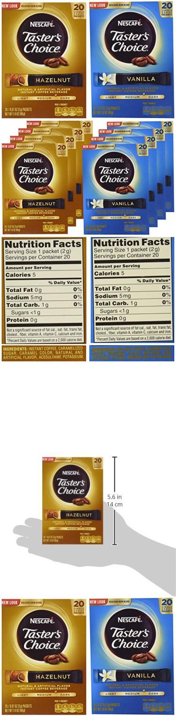 Nescafe Taster's Choice Vanilla and Hazelnut Instant