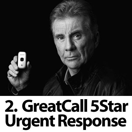 """""""I've fallen down and I can't get up"""" goes mobile with GreatCall's 5Star Urgent Response (http://www.greatcall.com/5star_urgent_response/) and MobileHelp (www.mobilehelpnow.com). Coming later in 2012 from Verizon and LifeComm."""