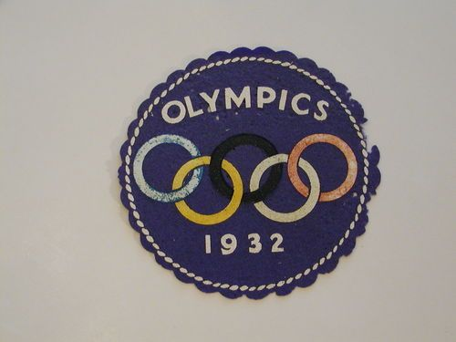 1932 Olympic Games Los Angeles Patch Olympic Games Olympics Los Angeles