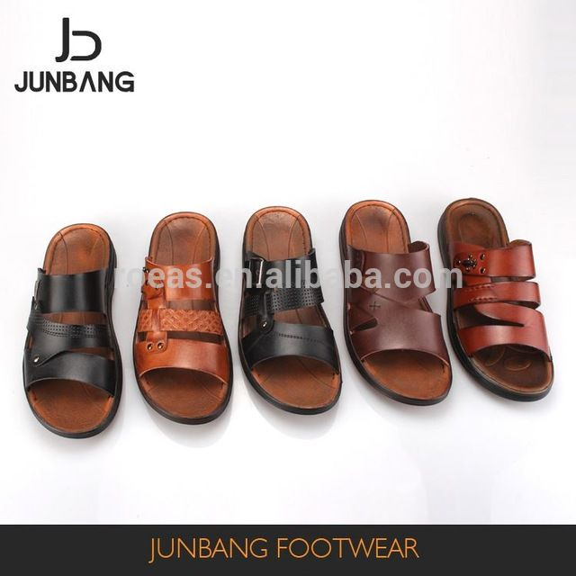 115c2734b87555 Source New coming special design tan outdoor Arabic men slippers sandals on  m.alibaba.com