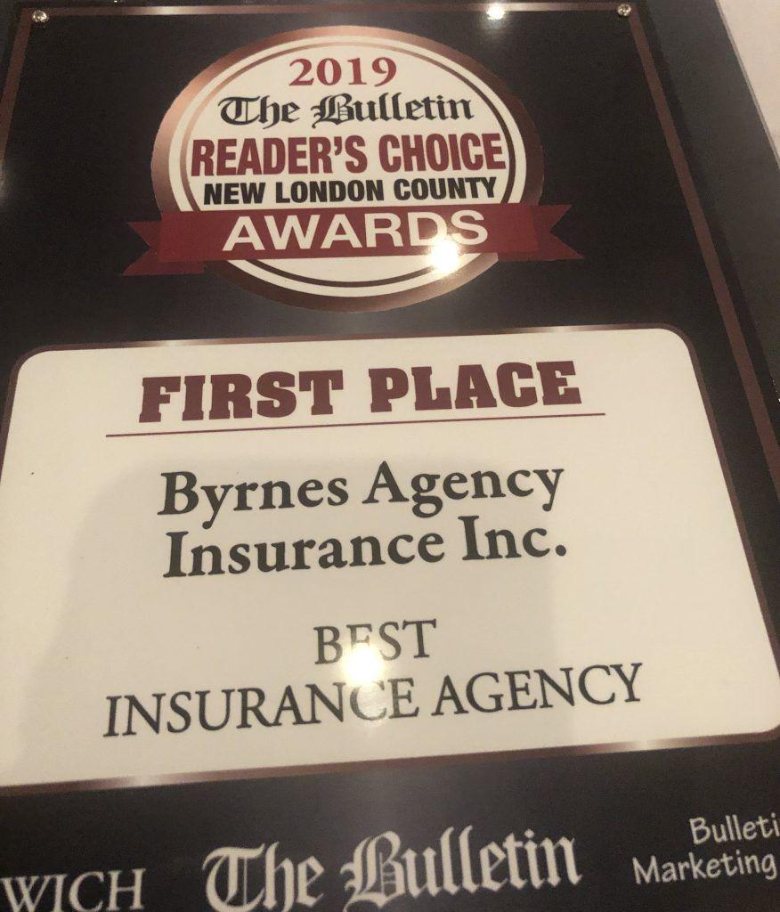 Byrnes agency readers choice award jay byrnes https