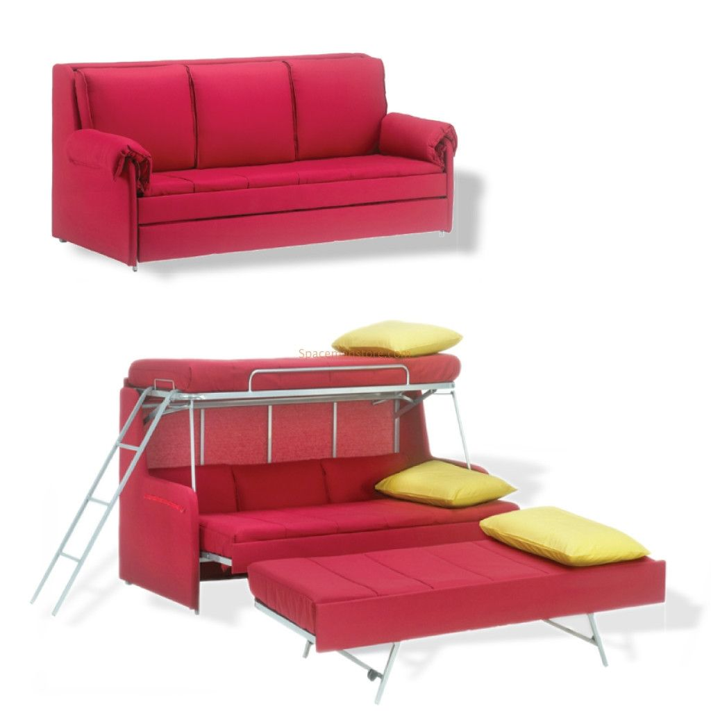 Couch Bunk Beds Convertible Bed Design Sofa