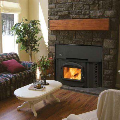 Napoleon Deluxe Epa Wood Burning Fireplace Insert Epi 1402 H222 Cisk A Ned118 1 Wood Burning Fireplace Inserts Living Room With Fireplace Fireplace Inserts