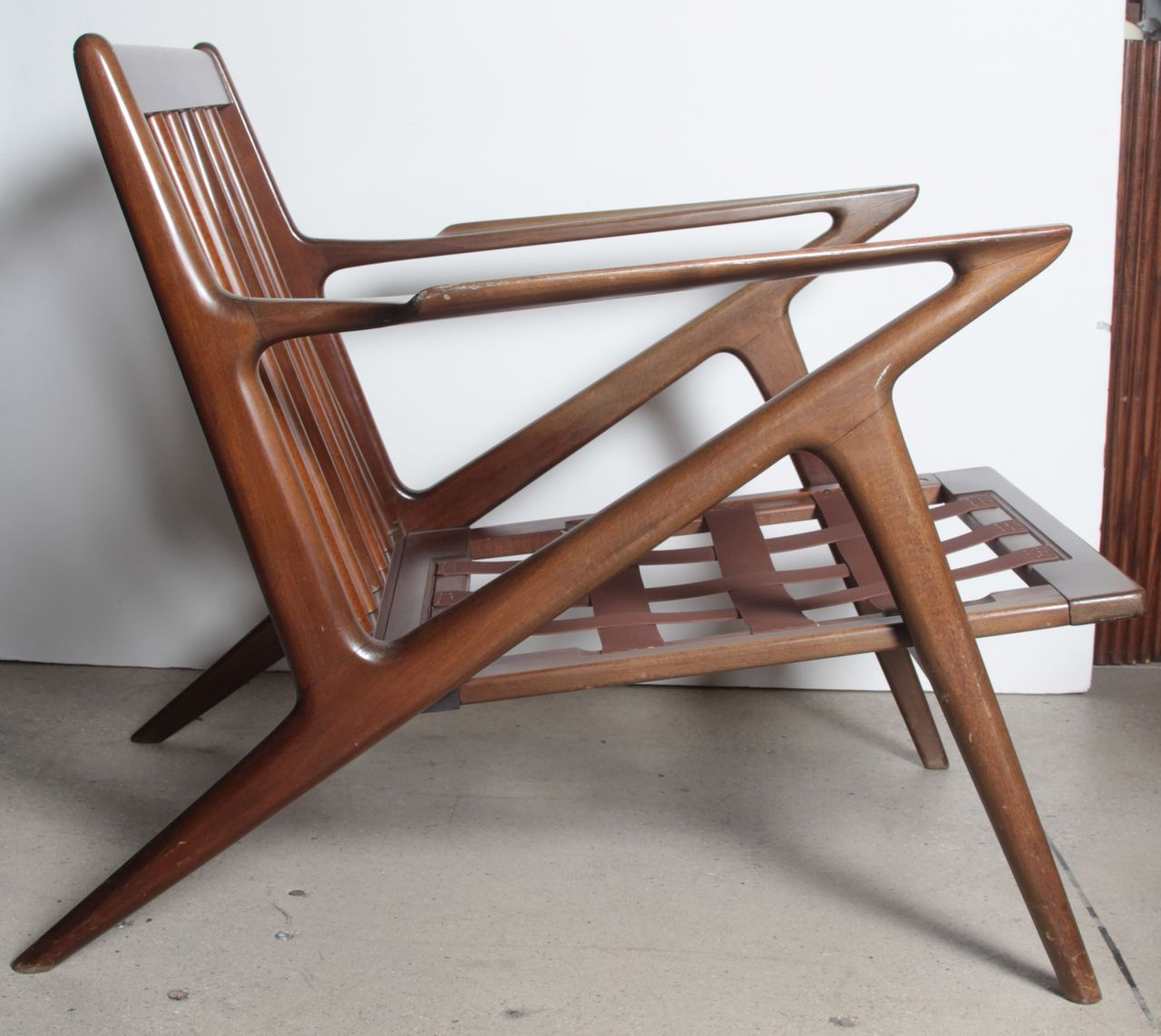 Amazing Pair Poul Jensen Selig Z Chairs | From A Unique Collection Of Antique And  Modern Lounge