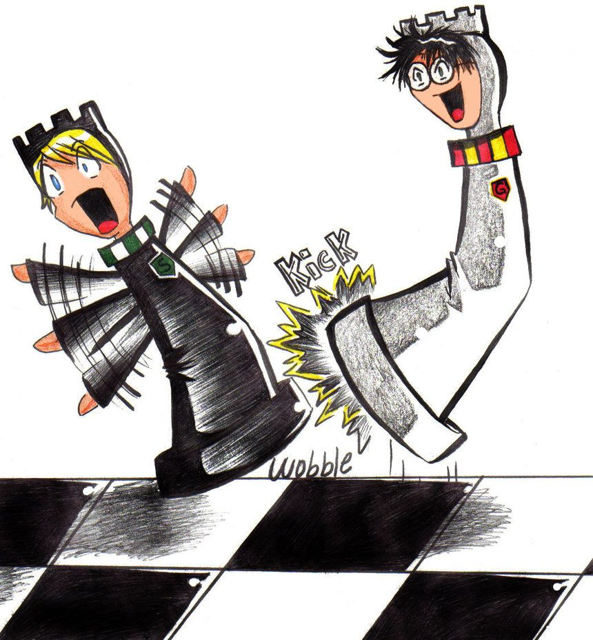 Chess drawings harry potter game of chess by