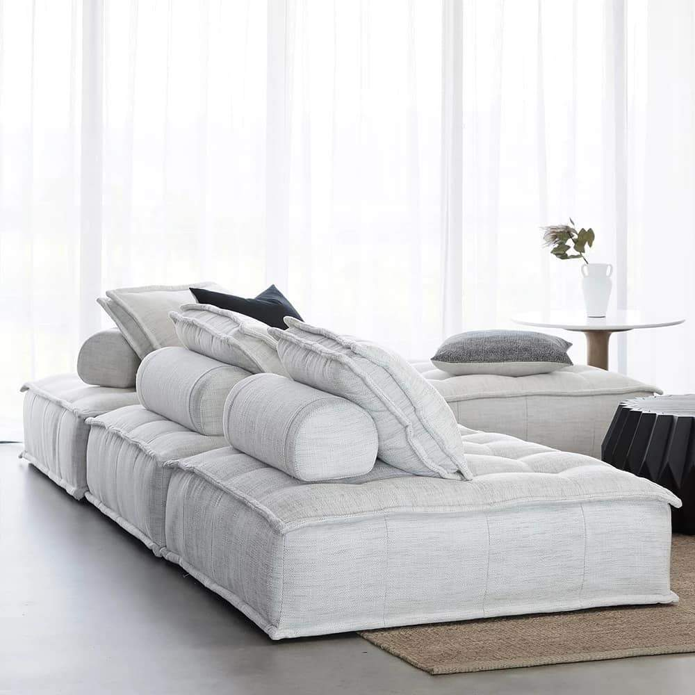 Collins Lounger Light Grey With Images Versatile Sofa Collins Sofa Sofas For Small Spaces