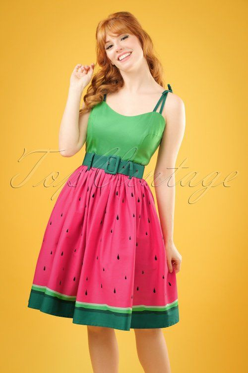 a7d487659d786 Collectif Clothing Jade Watermelon Swing Dress 20702 20121224 0001W