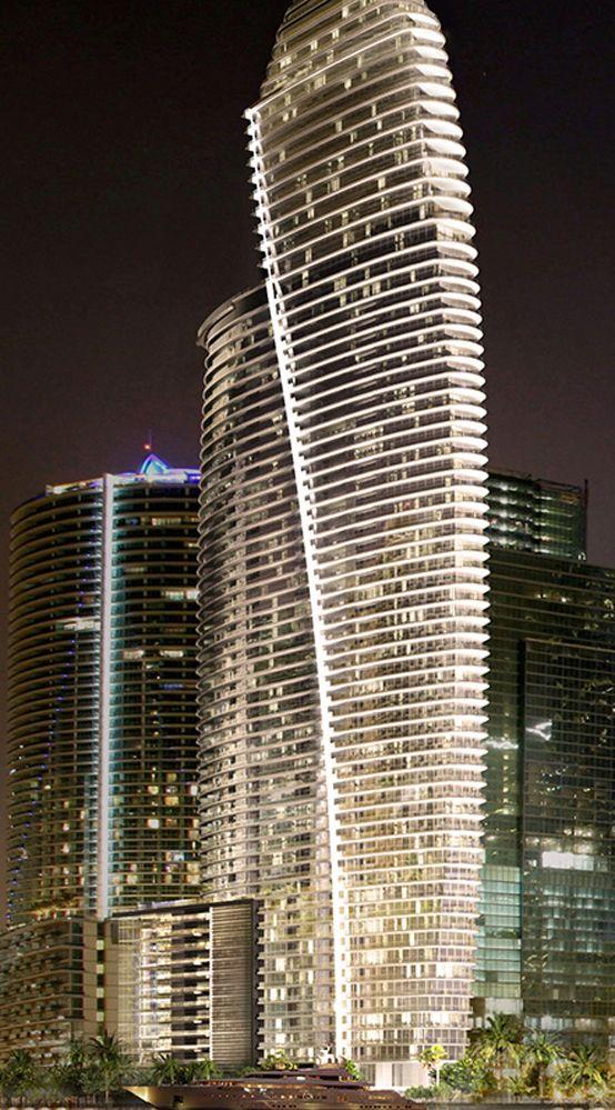 Aston Martin Residences In Miami Skyscraper Architecture Amazing Buildings Modern Architecture Design