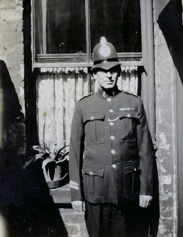 Liverpool City Police Constable John Edward Lewis Price Wearing Summer Issue Tunic Late 1930s Liverpool History British History Police