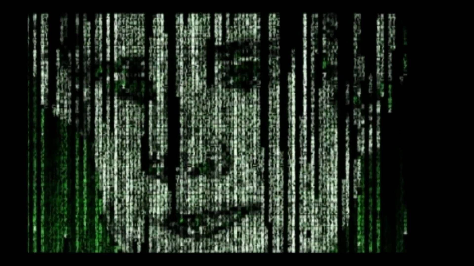 Matrix Rain Intro Effect Animation Code Digital C++ Part 1