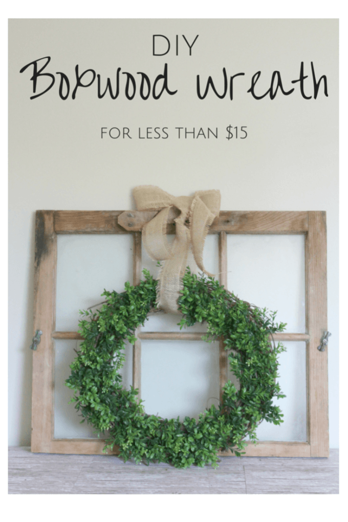 DIY Boxwood Wreath | Wreaths, Craft and Crafty