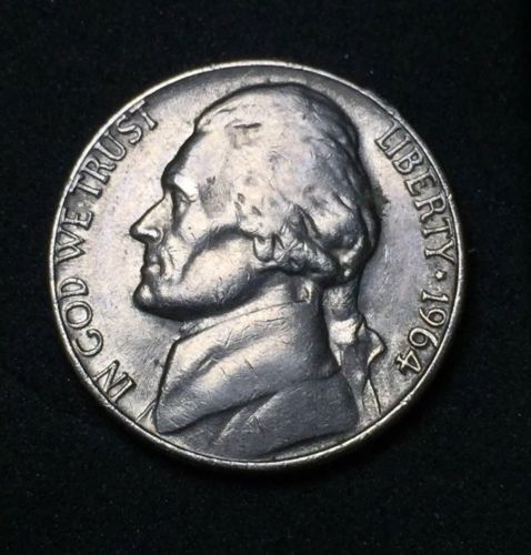 Error Errorcoins 1964 D Jefferson Nickel