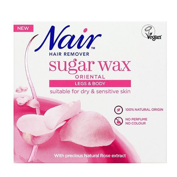 Nair Sugar Oriental Wax 350ml Toiletries Superdrug Dry