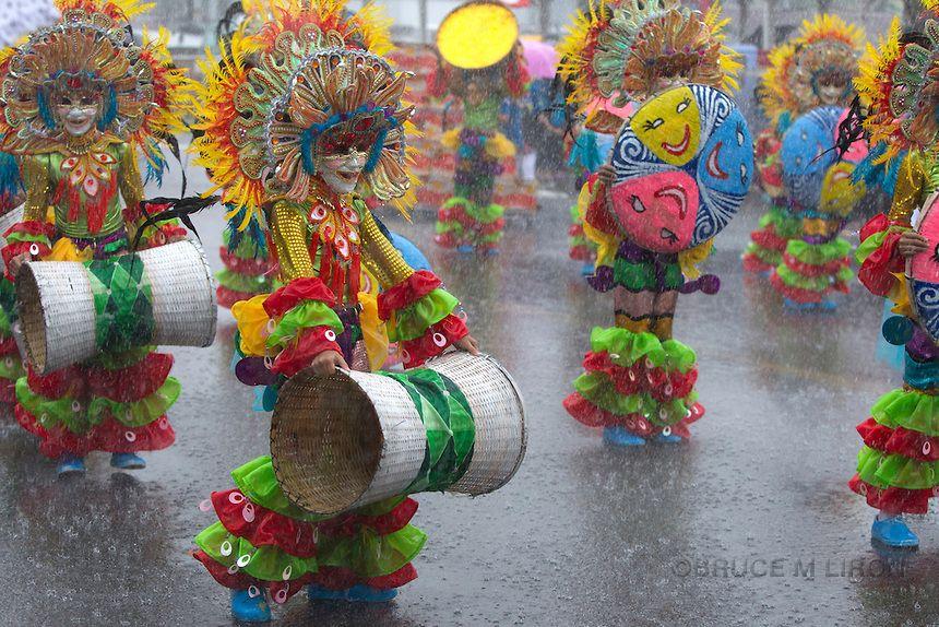 The MassKara festival is held each October in Bacolod