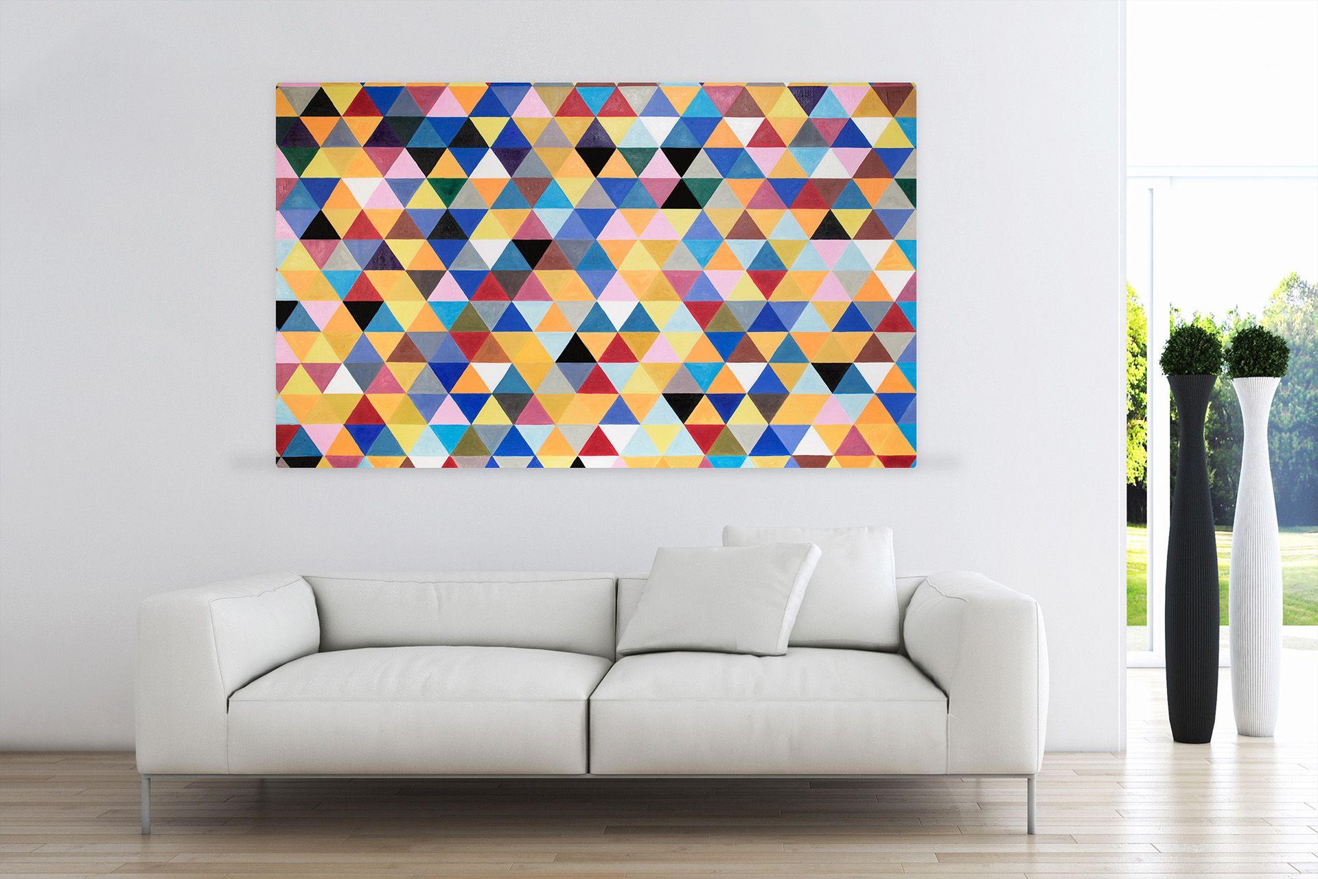 Öl Gemälde 'Vitales Assortiment' 165x100cm