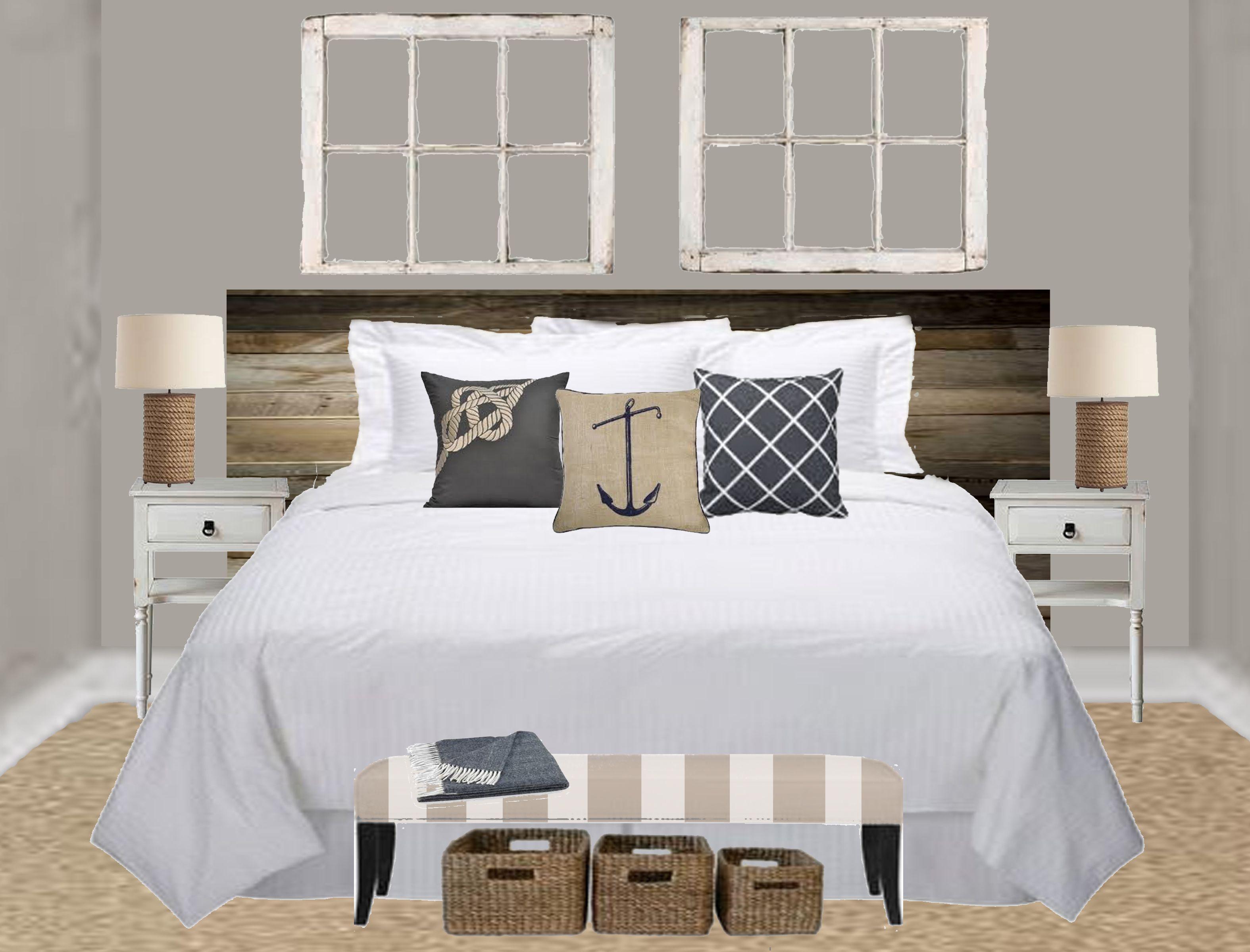 Amazing Nautical Master Bedroom Concept Beach House Xd Pinterest