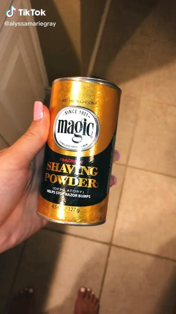 Magic Shaving Powder Video In 2020 Skin Care Hair Care