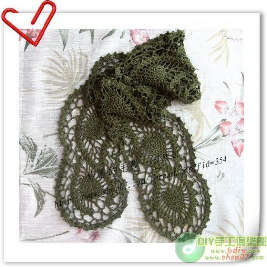 Irish Crochet Crochet Scarves