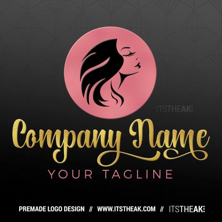 Premade Hair Business Logo Itstheak Hair Logo Lashes Logo Hair Logo Design