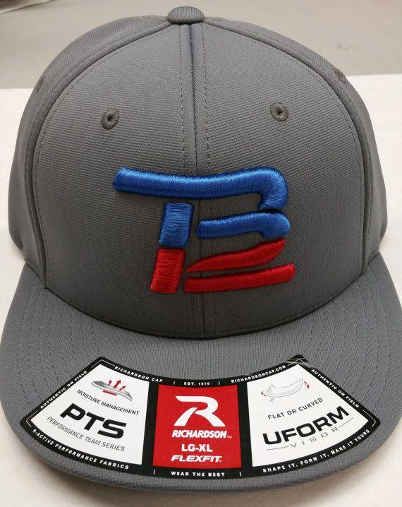 b9d4dae458a Tom Brady TB12 Hat Grey Richardson PTS20 model by Patzfan on Etsy ...