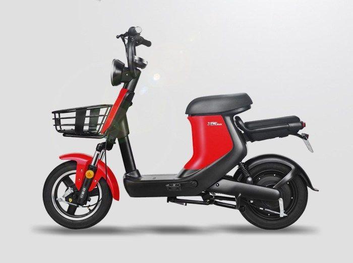 sunra新日xc1 电动车 新国标48v20ah锂电轻便电瓶车 值品 bike design electric bike ebike