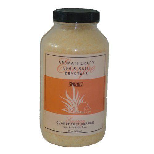 22oz Grapefruit Orange Spazazz Crystals Hot Tub Fragrance Spa Crystal