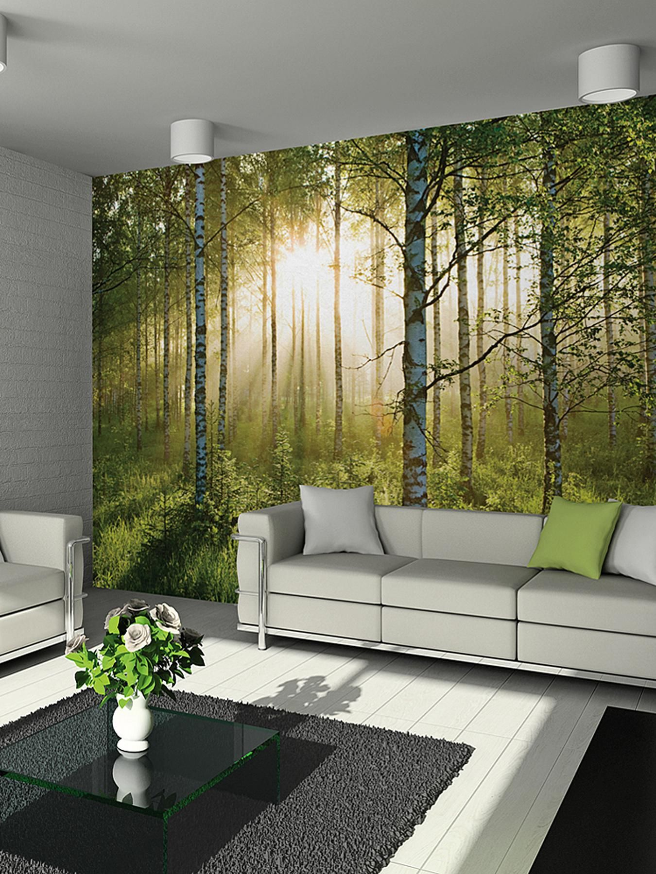 Forest Scene Wall Mural Part 84