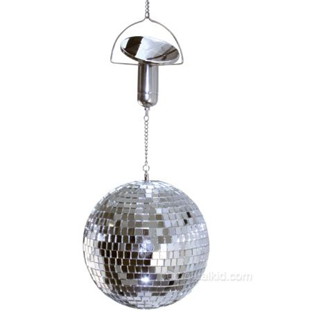 was planning to make a wind-powered version but perhaps this will suffice...?SOLAR POWERED DISCO BALL