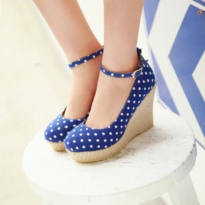 Bowknot The Flowers Wedge