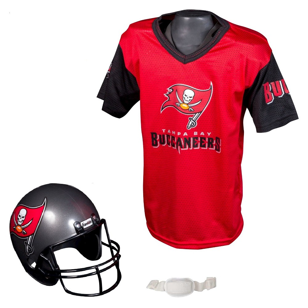 Franklin Sports NFL Team Helmet and Jersey Set - Ages 5-9 - Tampa Bay  Buccaneers a195995ba