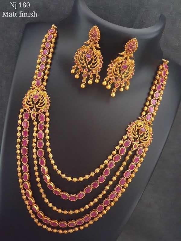 MattFinish Set With Earrings http://ift.tt/2si0KmZ  Jewellery  -  MattFinish Set With Earrings