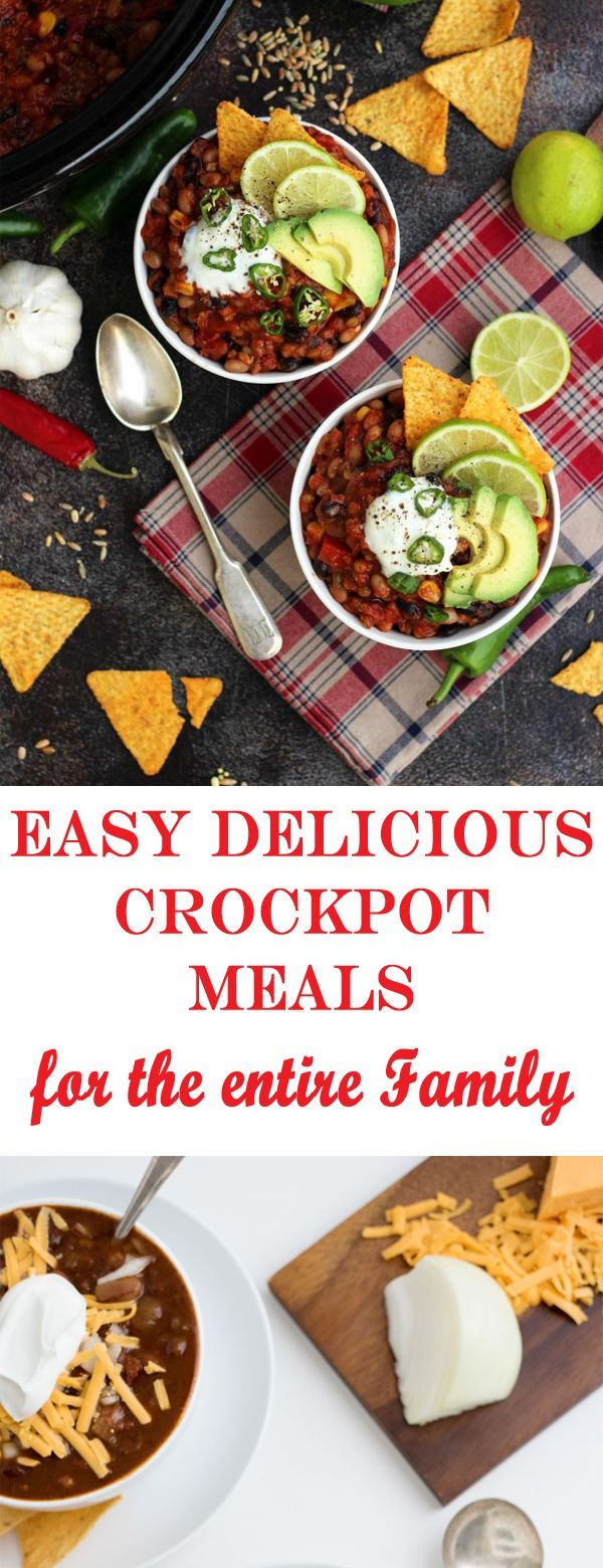 Delicious Healthy Easy Crockpot Meals images